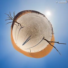 Planet Dead Vlei (dieLeuchtturms) Tags: 1x1 africa afrika deadvlei dünen hardap kameldorn namib namibnaukluftnationalpark namibia panorama quadrat sandwüste vachelliaerioloba wüste desert quadratisch sanddesert square dã¼nen sandwã¼ste wã¼ste sossusvlei littleplanet