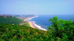 Vishakapatnam Kailashgiri Seaview (coolarun143) Tags: landscape cityview ocean landscapephotography mobileclicks seascape hilltopview hilltop mountainview topview vishakapatnam vizag kailashgiri kailashgiriview