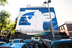 Alaska Airlines (Always Hand Paint) Tags: ooh outdoor colossalmedia alwayshandpaint skyhighmurals advertising colossal handpaint mural muraladvertising streetlevel travel tourism