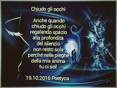 Chiudo gli occhi (Poetyca) Tags: featured image immagini e poesie sfumature poetiche poesia