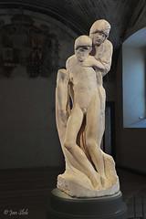 Rondanini Piet (Janslb) Tags: itali italy milaan milan milano rondaninipiet michelangelo sculpture statue art kunst jezus maria castellosforzesco nikon nikond700 allrightsreserved