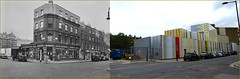 Lisson Street`1956-2016`Truncated (roll the dice) Tags: flyover london londonist westminster paddington marylebone old architecture local history traffic bygone westway nostalgia sad mad muslim arabs changes collection fashion shops shopping nw8 edwardian victorian vanished demolished ornate lights canon tourism heritage a40 streetfurniture nw1 lost mansions oldandnew pastandpresent hereandnow edgwareroad tube underground cube colour uk art classic urban retro fifties council van bishops corner sheringhamestate tfl trees people compare enamel wall pattern beacon windows closed