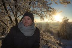 Schneewanderung im deutsch-belgischen Grenzgebiet (photo79.de - Sebastian Petermann) Tags: schnee winter eifel eis winterlandschaft hohesvenn mtzenich brackvenn