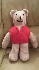 CSF14 #Day310 #Saturday #November #29 (Sam_Mason Photography) Tags: november art wool thread knitting teddy knit saturday craft yarn textile teddybear stitching 29 knitted stiches woolen day310