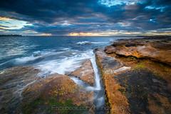 La perouse (Chaiwat lee www.facebook.com/Mondayfoto) Tags: sunset sea seascape water beautiful landscape seaside sydney wave australia laperouse