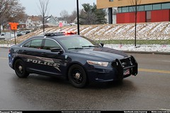 Fairlawn Ohio Police Ford Taurus (Seluryar) Tags: justin ohio ford police funeral fallen procession taurus department officer akron fairlawn winebrenner