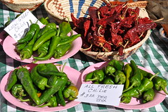 chiles at the Santa Fe Farmers' Market (Paul and Jill) Tags: chile newmexico santafe farmersmarket