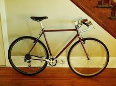 Eprouvé Cross Bike (guidedbybicycle) Tags: bicycle one stem triangle cross handmade steel rear handlebar soma gravel cyclocross brooks midge wishbone shotwell