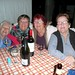 Brenda, Babs, Maureen and Kay enjoying last drinks.