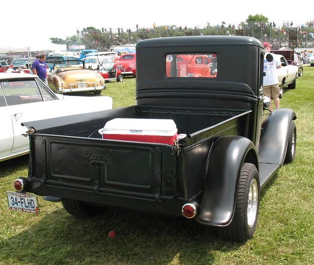 ford pickup 1934 carshow fordtruck stro 1934ford fordv8 fordflatheadv8 stromberg97 offenhauserheads twodeuces meltdowndragsbyronillinois