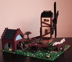 The Mill of the Trifork (Beorthan) Tags: mill lego avalonia trifork guildsofhistorica