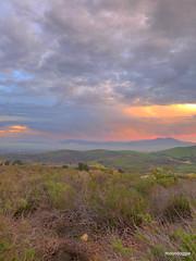 P1420542 (moondoggie71) Tags: california pink orange colors clouds dawn january sage scrub saddleback irvine baldy chaparral mtbaldy turtlerock 2015 sangarbrielmountains santaanamountains shadycanyon coastalsage