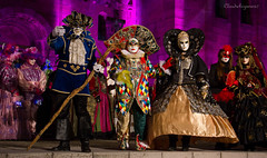 A Whiff of Carnival of Venice - 2015 (Cloudwhisperer67) Tags: city trip travel carnival blue venice costumes girls light red party portrait people urban italy orange woman france color art love colors girl yellow ball fun photography lights costume amazing fantastic women funny comedy europa europe cityscape mask bokeh robe lol magic great adorable duke divine fantasy alsace carnaval venetian masquerade masked lovely february fest scape incredible venise flashy nigth photgraphy splendid bal robes whiff duchess 2014 venezzia 2015 nighscape masqu urbanarte rosheim cloudwhisperer67