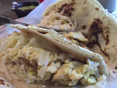 IMG_2932 (austin.restaurants) Tags: ios8 iphone6 locationandersonmill restaurantlatapatia breakfast food iphone public tacos urbanspoon 2015 march 2nd 150302 monday march2nd foodbreakfasttaco