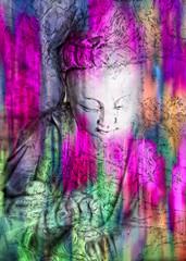 Quan Yin...Goddess of Compassion (LotusMoon Photography) Tags: art loving digital photomanipulation photoshop colorful buddhist goddess compassion creation photomontage kindness spiritual bodhisattva deity quanyin embodiment