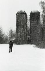 (Matt Allouf) Tags: new winter white snow black film 35mm minolta 400 jersey 100 pushed expired ilford x700 fp4plus epsonv500