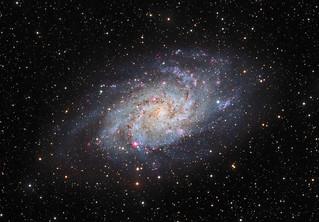 M33 - Triangulum Galaxy in LRGB