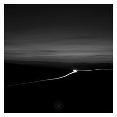 Dark Times (picturedevon.co.uk) Tags: longexposure blackandwhite bw cars landscape photography mono nationalpark nightscape dusk fineart devon le lighttrails dartmoor minimalist tors minimailist moorlan bydavidhixon wwwpicturedevoncouk