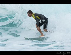 Pipeline surfer (Hamilton Images) Tags: beach canon hawaii surf waves oahu famous january surfing northshore surfers 500mm banzaipipeline ehukaibeachpark 2015 14xteleconverter img0784 7dmarkii