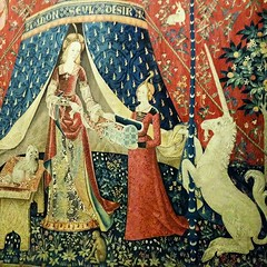 The Lady and the Unicorn... (7-bc) Tags: paris france iledefrance tapestries tapisserie museedumoyenage theladyandtheunicorn museedecluny ladamealalicorne uploaded:by=flickstagram instagram:photo=88418788641585878117785338 instagram:venuename=musc3a9enationaldumoyenc382ge instagram:venue=249364642
