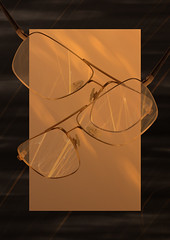 Herr Menig Optik - Gold (Option) (Philipp Zurmoehle) Tags: christmas xmas glitter illustration germany festive gold glasses golden photo frames ad illustrations card german funk sparkly campaign glittery sparkling nürnberg optician eyewear 2014 optik herrmenig herrmenigoptik