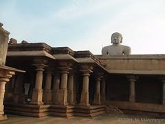 A portion of the main temple complex (manoba) Tags: india karnataka bahubali jaintemple shravanabelagola monolithicstatue gommateshvara jainbasadi