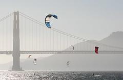 Golden Gate Bridge (philipbouchard) Tags: sanfrancisco california bridge coast windy kitesurfing goldengate watersports