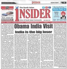 Obama India visit: India is the big Loser TSI 01-30-15