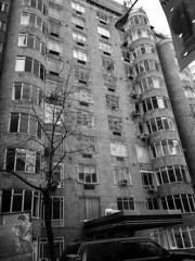 """1920s-30s Apt Building Across from MOMA • <a style=""""font-size:0.8em;"""" href=""""http://www.flickr.com/photos/59137086@N08/16451621917/"""" target=""""_blank"""">View on Flickr</a>"""