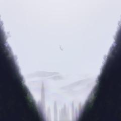 Fiat Lux (Alan Uchoa II) Tags: trees sky selfportrait mountains luz fog forest fineart falling floresta lux fiatlux nevoa alanuchoaii quehajaluz