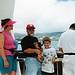 Catherine, Ali & Deniz on the ferry to USS Arizona Memorial, Pearl Harbor