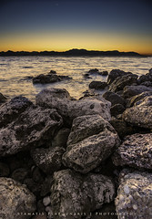 Civil (skorpios_) Tags: sunset sea sky nikon rocks wide hellas greece bluehour nikkor ultrawide 1635 d810 nikond810 nikkor1635f4gedvr