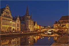 Gent - 03101117 (Klaus Kehrls) Tags: architektur gent stdte belgien flsse gewsser