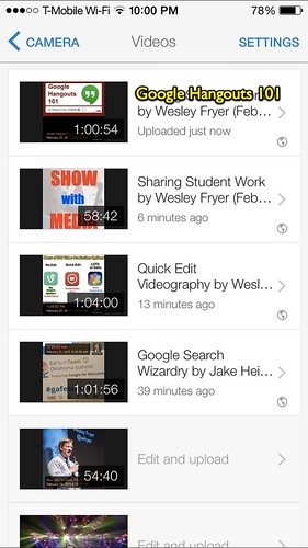 Audio Recordings Uploaded to YouTube by Wesley Fryer, on Flickr