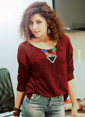 Girl (Eslam Rezo) Tags: desktop camera new portrait people music girl photoshop work canon studio advertising poster happy photography design photo cafe natural creative egypt arabic cairo egyptian rezo eslam
