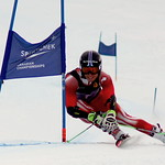 Cameron Alexander takes silver in GS at U18 National Championships PHOTO CREDIT: Derek Trussler