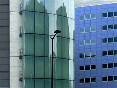 (MAGGY L) Tags: architecture faades reflets fentres immeubles dmcfz200