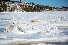 2176- Sculptures (BLEUnord) Tags: winter ice river hiver rivire saguenay glace chicoutimi