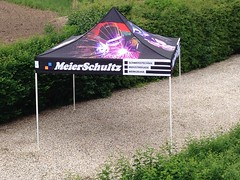 Quick Folding Tent  - full color tent