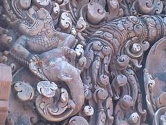 Details of Banteay Srei Carvings