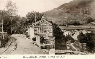 Corris Railway - Esgairgeiliog Station