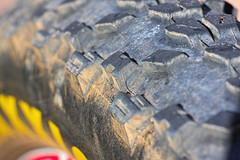 Macro Textures - [MacroMonday_20160711] (Arranion) Tags: light mountain macro bike canon eos warm rubber textures mtb hmm 29er mondays tubeless maxxis flickrphotowalk 40d macrotextures macromondays