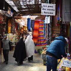 """""""Ici pas de vente force"""" - Marrakech, Morocco (Granyy) Tags: vente medina marrakech maroc marocco muslim color"""