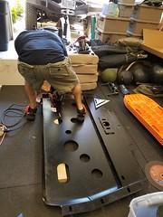 Slee Skid Plate Modifications (mrgarage) Tags: toyota landcruiser slee metaltech 100series tlca