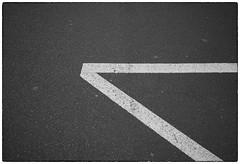 pavement in sunlight (TorstenHein) Tags: street monochrome place pavement mark parking hein