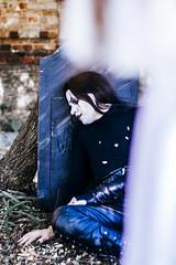The Crow - Gabriel lobo (jwellingtonjohnny) Tags: city gabriel nerd movie comic cosplay angels lobo cosplayer crow the
