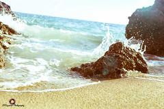 Vintage Beach (CVSeymour Photography) Tags: coastline landscape summer bay beach beautiful blue coast color filter flare japan japanese lights ocean oceanfront old photography pretty rocks saltwater sand sea seafoam shadow sky water waves