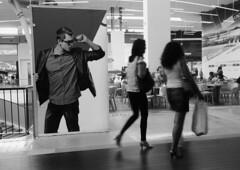 Wow !... (Alain Rempfer) Tags: funny drôle amusant centrecommercial commercialcenter blackandwhite bw noiretblanc streetphotography candidphotography candidportrait candidsnapshot emotion face visage publicspace espacepublic scenedevie urban portraiture viequotidienne dailylife canon canonixus160 photographienonposée unposedphotography