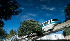 Monorail Monday LII - Volume 6 (DugJax) Tags: waltdisneyworld epcotcenter futureworld relfection monorail monorailblue sonyalpha sonya6000