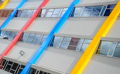 Saint-Frere-Andre (Underground Joan Photography) Tags: school urban toronto lines architecture abstractarchitecture brocktonvillage saintfrereandre
